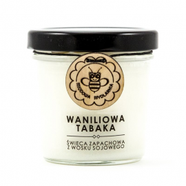 WANILIOWA TABAKA świeca z wosku sojowego