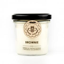 BROWNIE świeca z wosku sojowego