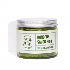 Konopne mydło Savon noir Eukaliptus i szałwia